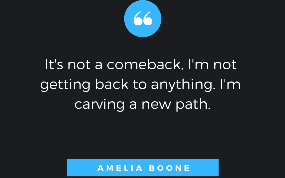 Amelia Boone: Carving a New Path Post Injury